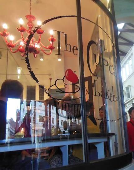 Cupcake Bakehouse in Covent Garden