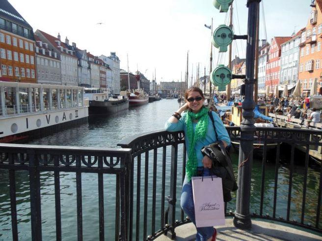 Zicht op Nyhavn