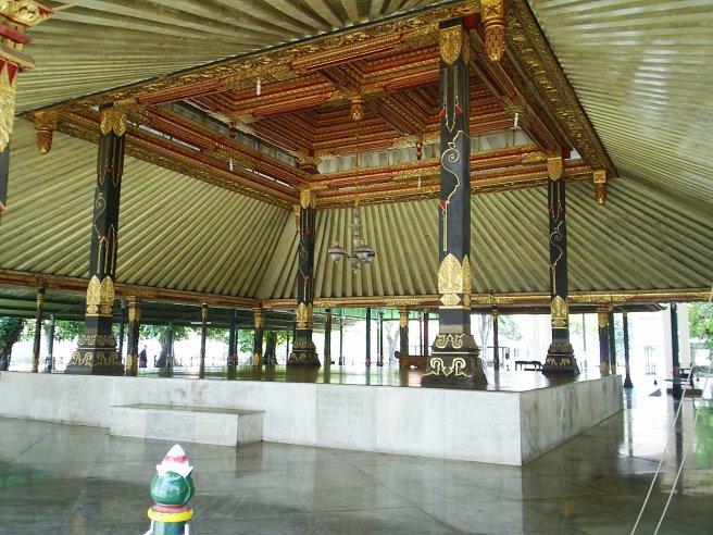 Gouden troonzaal
