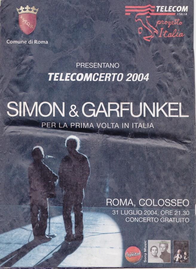 Simon and Garfunkel in Rome