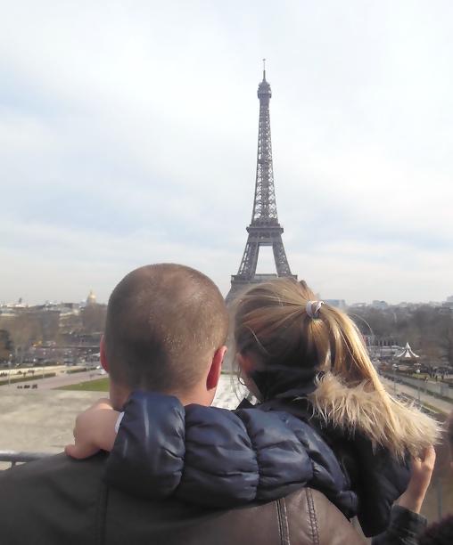 Eindelijk de Eiffeltoren zien!