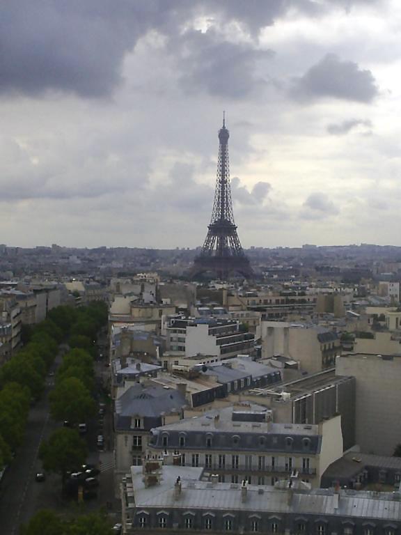 Parijse skyline