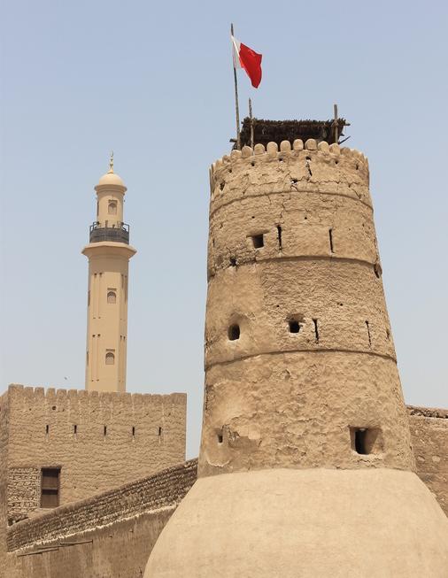 El Fahidi Fort, gebouwd in 1787