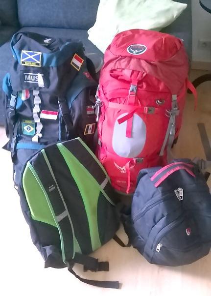 Backpack-inpakken