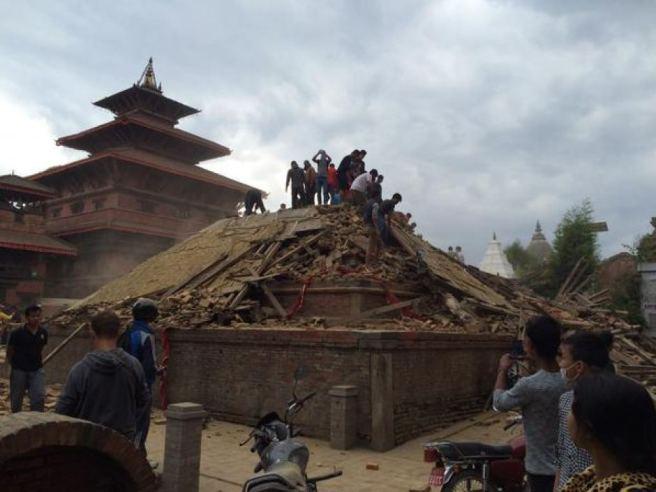 Nepal-aardbeving