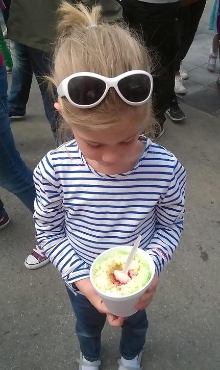 Thais ijsje-Thailand-Groenplaats-Antwerpen