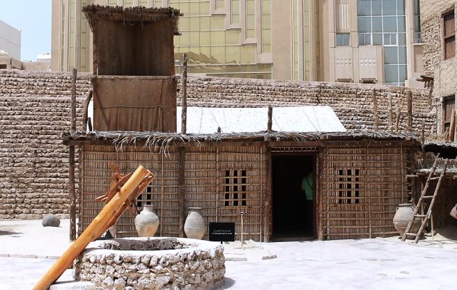 binnenplein-Dubai-Museum